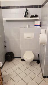 Um banheiro em Apartmány na Malostranské