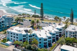 Una vista aérea de Alexandria Apartments