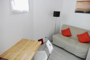 Un lugar para sentarse en Bel appartement dans maison au bourg