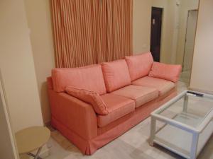 Un lugar para sentarse en Apartamentos Larga 70