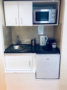 מטבח או מטבחון ב-Knaresborough Boutique Apartments