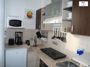 מטבח או מטבחון ב-Sibiu-Heim-Apart