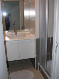 חדר רחצה ב-Appartement Koksijde