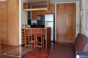 A cozinha ou cozinha compacta de Travel Place Lyon
