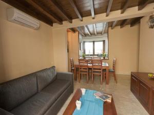 منطقة جلوس في Mercader de Sedas Apartments