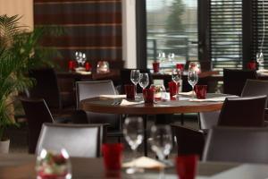 مطعم أو مكان آخر لتناول الطعام في Residhome Suites Paris Sénart