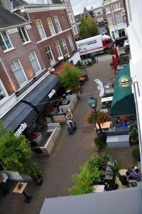 Uma visão geral de Haia ou uma vista da cidade tirada do apartamento