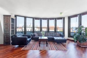 منطقة البار أو اللاونج في GreatStay Apartment - Danzigerstr.