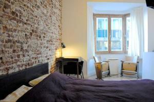 Cama ou camas em um quarto em Exquisite Stay In Brussels