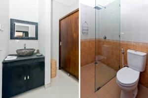 Um banheiro em Agung Rakas