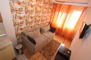 Un lugar para sentarse en Belgrade Downtown Apartments