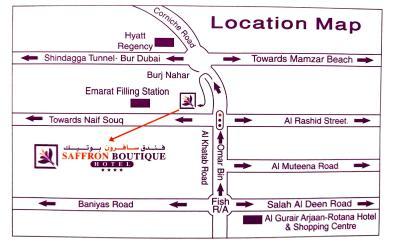Saffron boutique hotel los emiratos rabes unidos dub i for Saffron boutique hotel dubai location