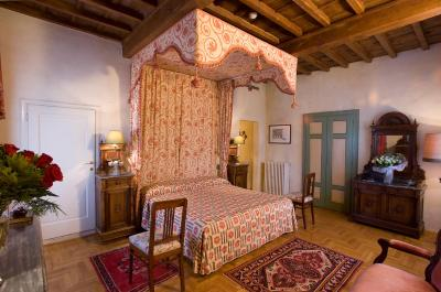 A room at the Hotel Loggiato dei Serviti in Florence, Italy