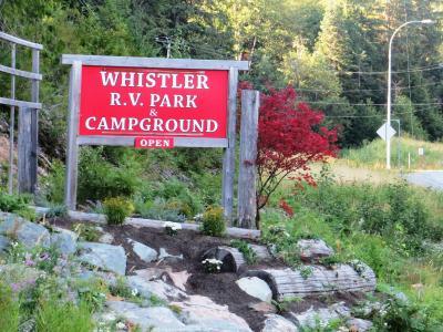 Campsite Whistler RV Park Garibaldi Canada