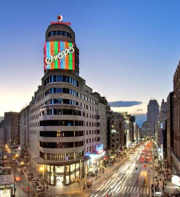 Hotel vincci capitol madrid spain for Booking madrid hotel
