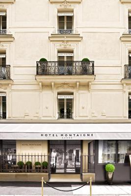 hotel montaigne france paris