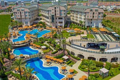 Novum garden side hotel turkei side bookingcom for Katzennetz balkon mit hotel can garden side