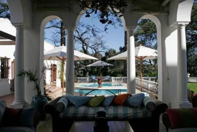Le jardin luxury villa stellenbosch south africa for Hotel villa jardin barrientos