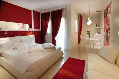 A room at the Hotel Residence Opera Relais de Charme, Verona. (Photo courtesy of the hotel)