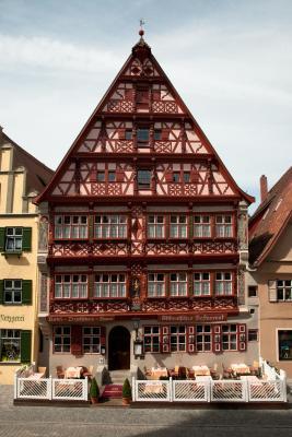 hotel deutsches haus deutschland dinkelsb hl. Black Bedroom Furniture Sets. Home Design Ideas