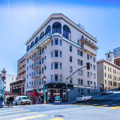 top deals grant plaza hotel san francisco ca. Black Bedroom Furniture Sets. Home Design Ideas