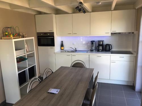 Nhà bếp/bếp nhỏ tại Vissershuisjes Wenduine