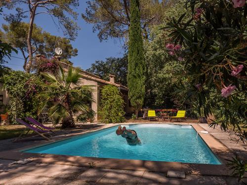 Villa provençale, piscine, pins et cigales