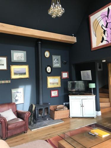 El lobby o recepción de The Vineyard House
