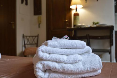 Cama ou camas em um quarto em Nido de' Pitti