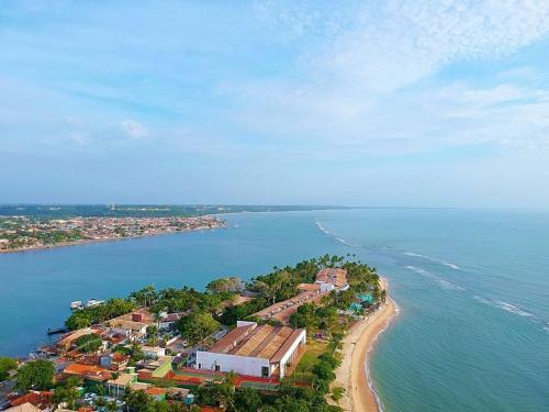 Uma vista aérea de Residence Maria Vittoria