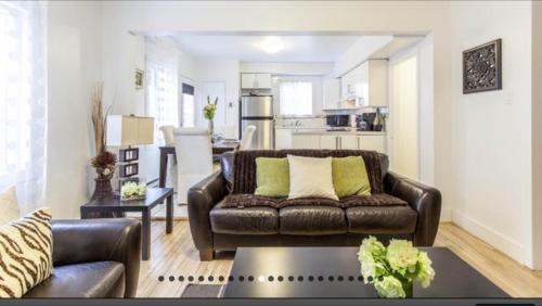 Un lugar para sentarse en Apartment Condotel Montreal
