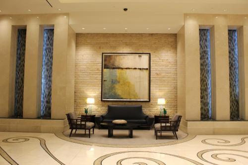 O saguão ou recepção de Luxury Suites International at The Signature