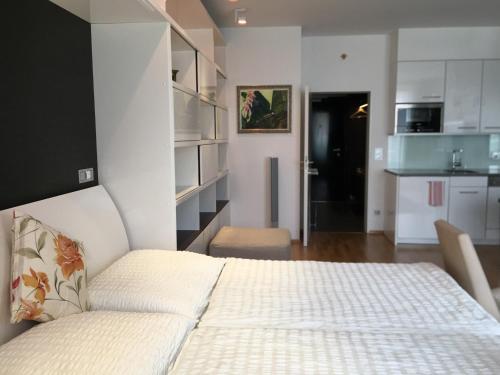 Cama ou camas em um quarto em Apartment Romantic M&K