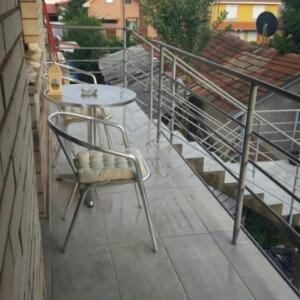 מרפסת או טרסה ב-Apartman Lea