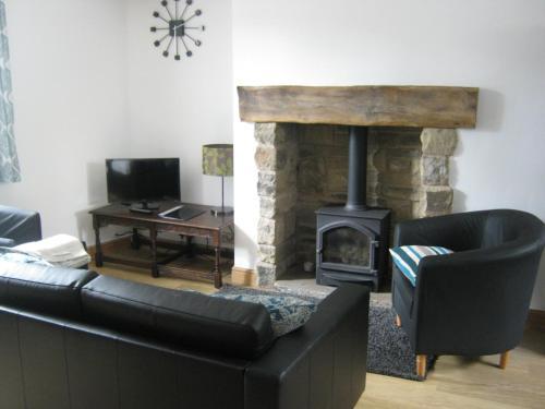 Un lugar para sentarse en Drovers Cottage