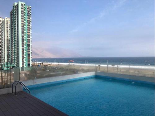المسبح في Depto Mirador de Playa Brava II أو بالجوار