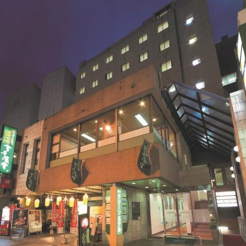 הבניין של המלון האקונומי