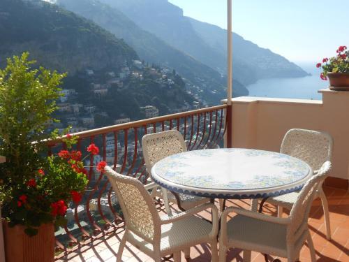 Un balcón o terraza en Casa Le Terrazze