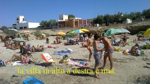 Villetta Fronte Spiaggia a Mancaversa