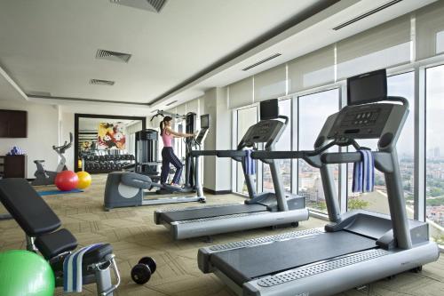 Phòng/tiện nghi tập thể dục tại Somerset Central TD Hai Phong City