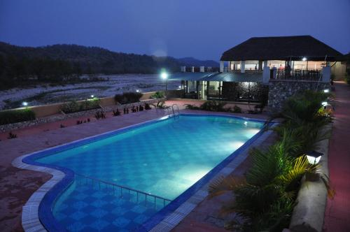 Parque Nacional Jim Corbett Resorts 74 Complexos De