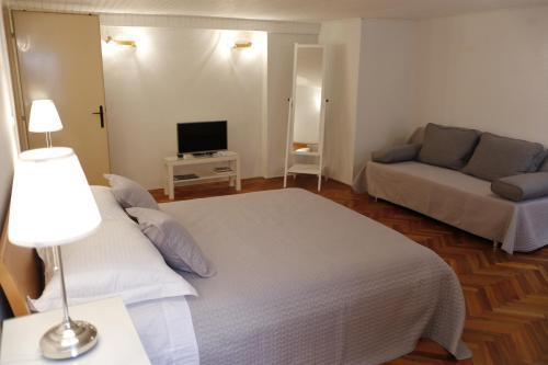 Cama ou camas em um quarto em Apartment Blaise-Old Town