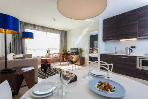 巴塞羅那輝盛凱貝麗酒店式公寓