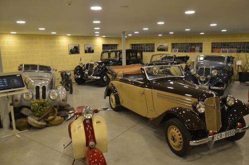 Retro Auto Museum Apartment
