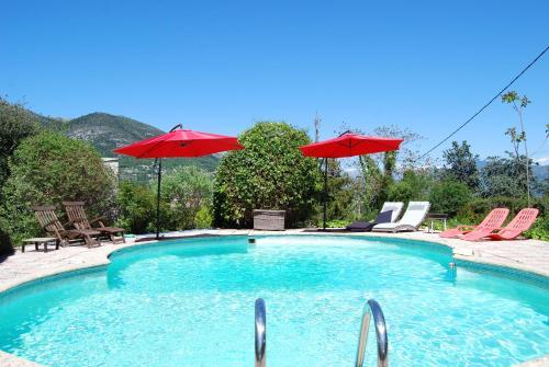 Villa Côte d'Azur piscine privée