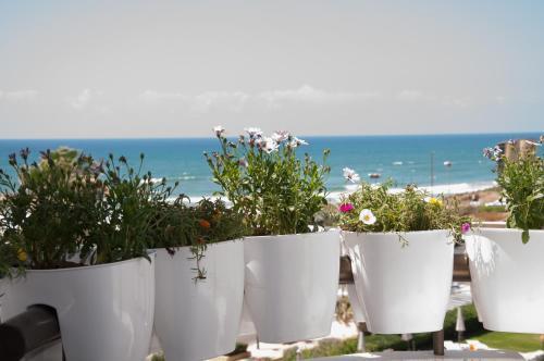 נוף כללי של ים או נוף לים שצולם מהדירה