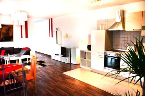 מטבח או מטבחון ב-Grandmore Apartments Berlin Mitte