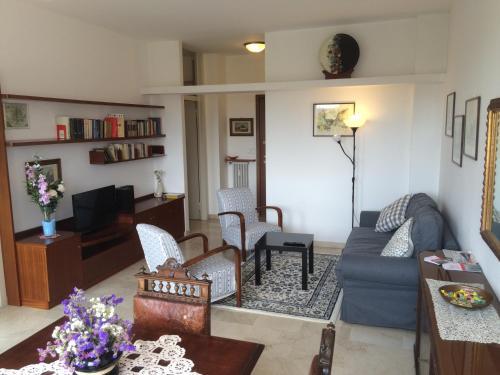 הלאונג' או אזור הבר ב-Casa Carozzi