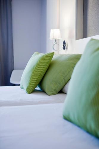 Cama ou camas em um quarto em Mir Octavio