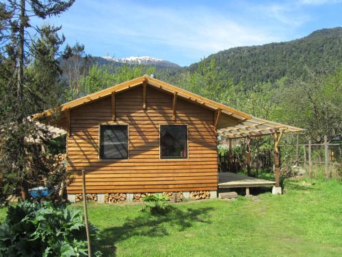 Um jardim em Cabaña Turin